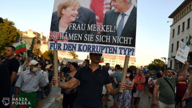 Drugą dobę trwa antyrządowy protest w centrum Sofii