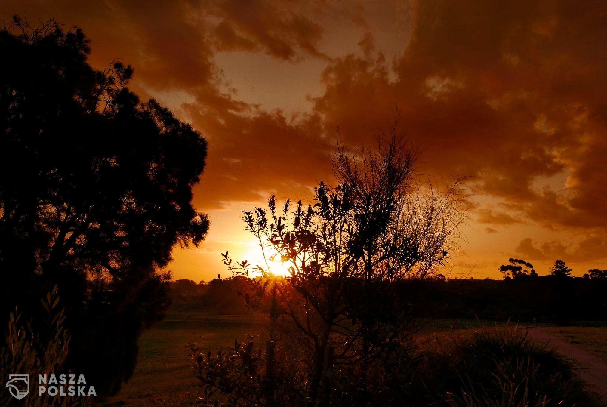 Australia Zachód Słońca