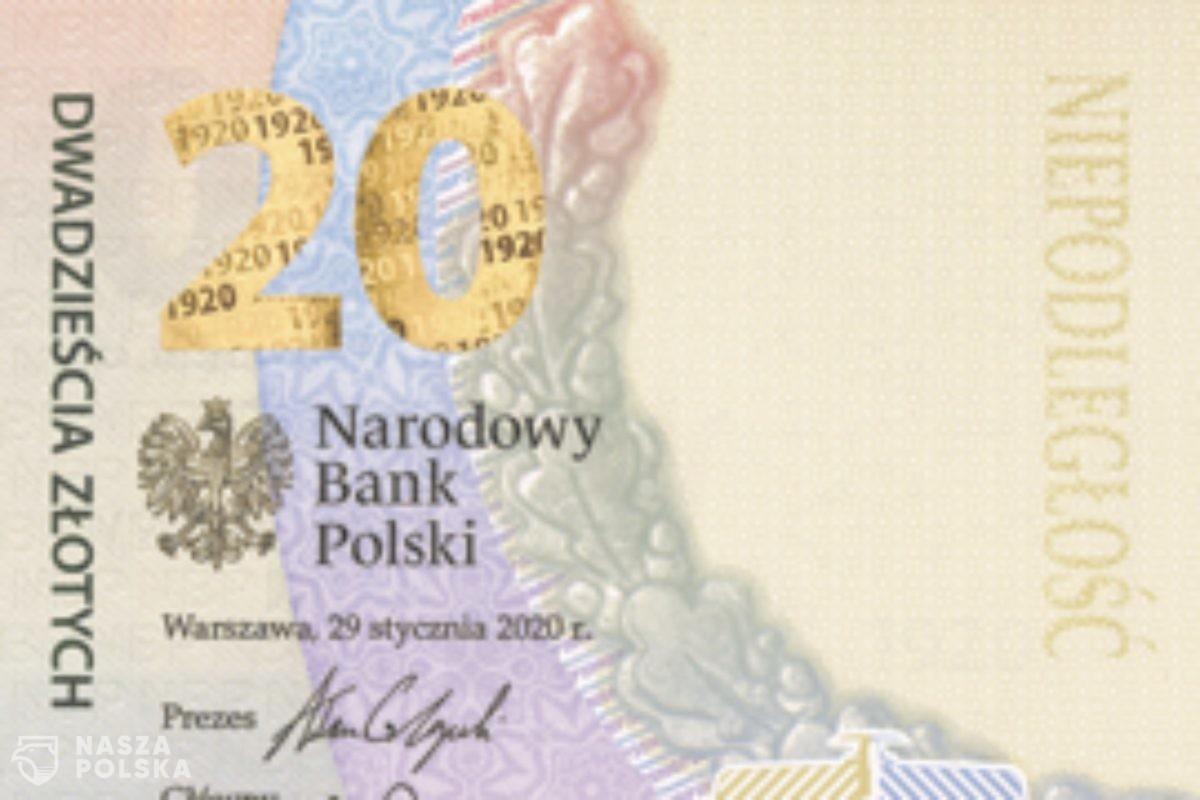 NBP wyemitował pierwszy pionowy banknot – upamiętnia Bitwę Warszawską 1920. Zobacz jak wygląda
