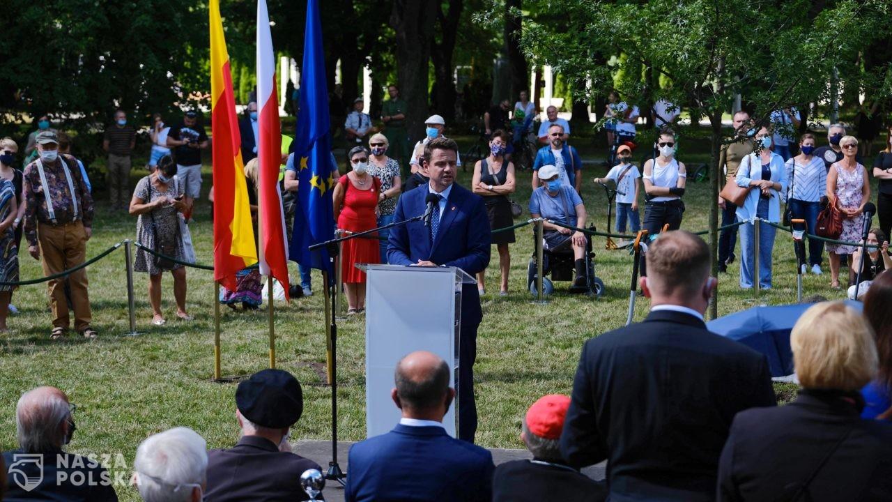 Trzaskowski: róbmy wszystko, aby nie doświadczyć losów mieszkańców Warszawy z 1944 r.