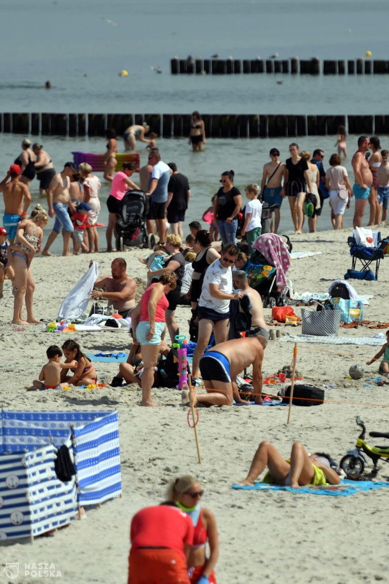Wypoczywający sprawdzają online czystości kąpielisk, w te wakacje ponad pół miliona odsłon