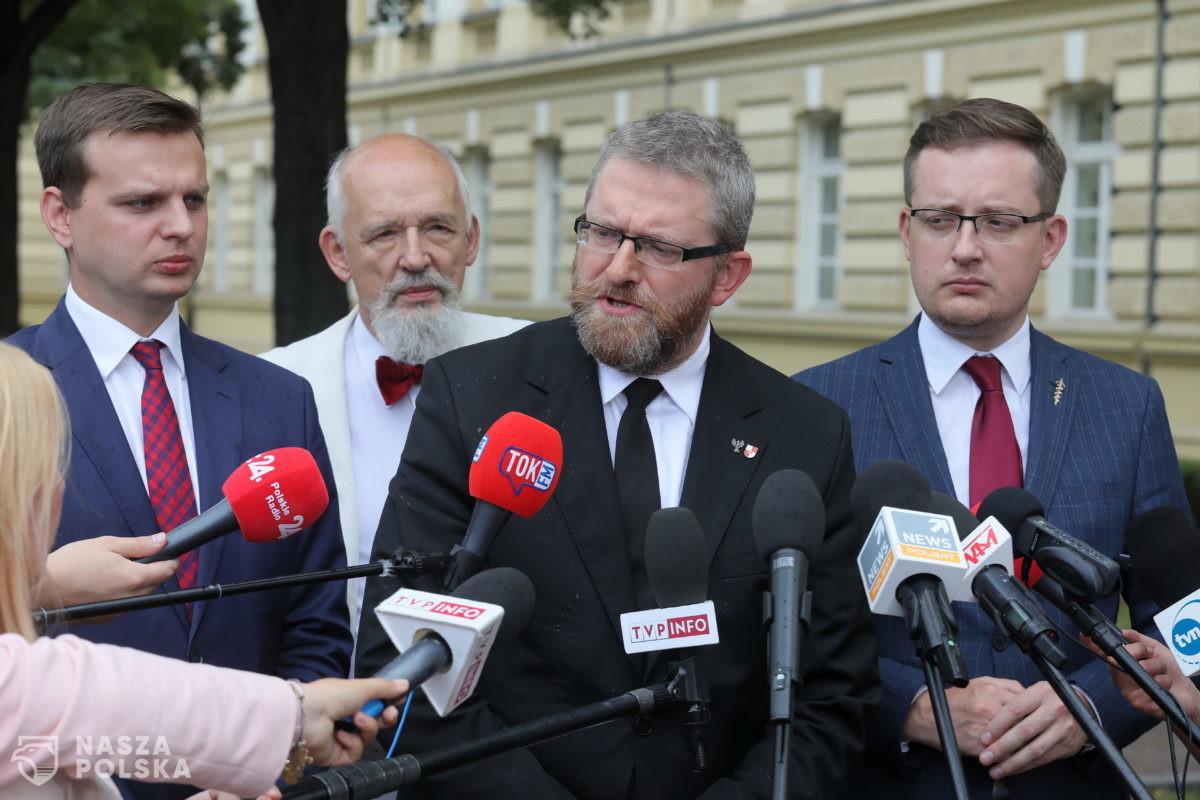 PKW odrzuciła sprawozdania finansowe Konfederacji i Zielonych za 2019 r.
