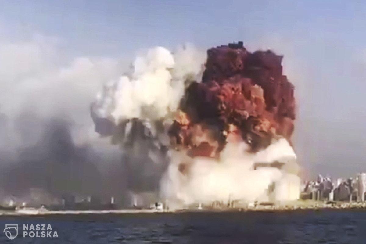 Saletra amonowa, która wybuchła w Bejrucie, miała dotrzeć do Mozambiku