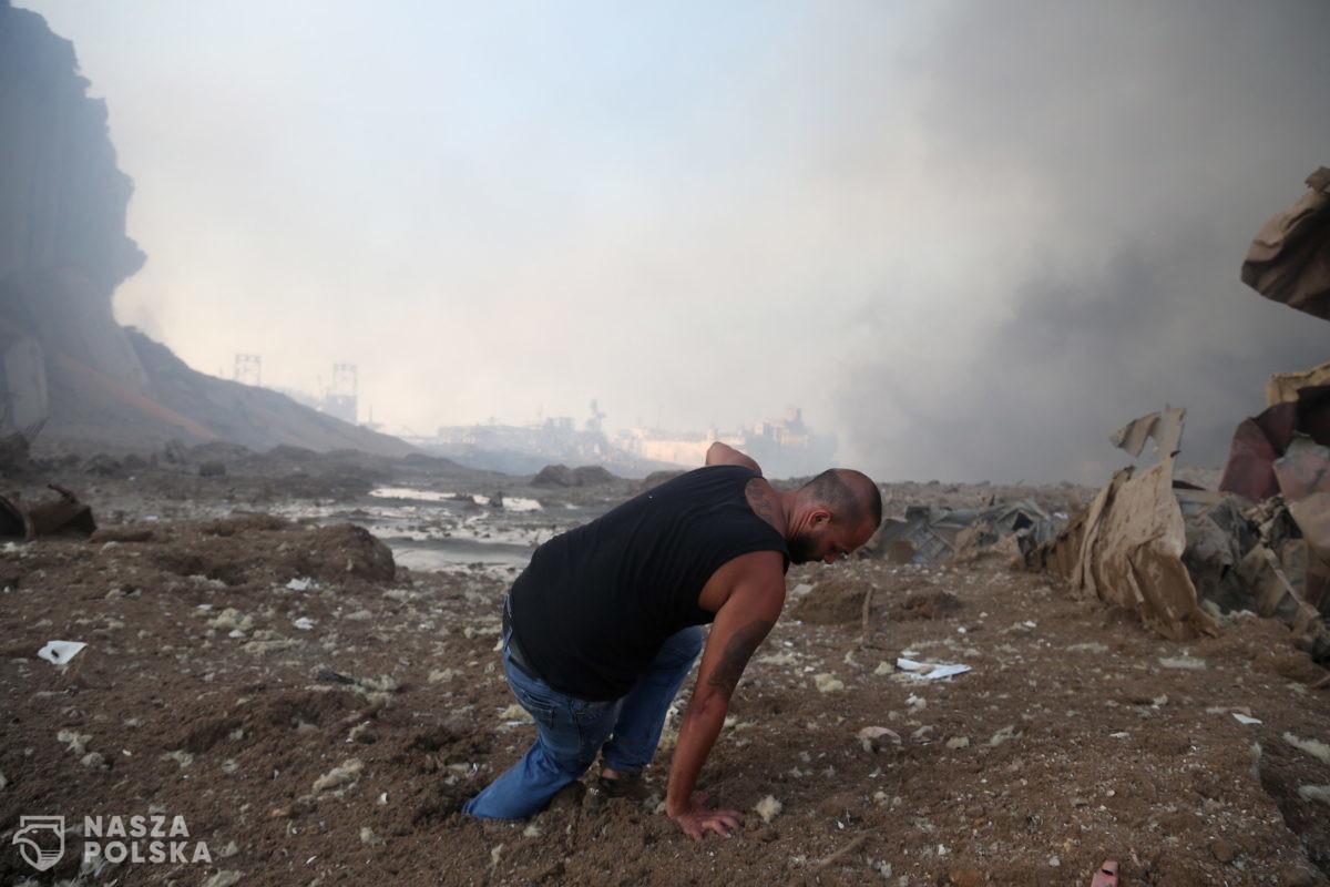[DUŻO ZDJĘĆ] Bejrut po apokalipsie. Miasto potwornie ucierpiało