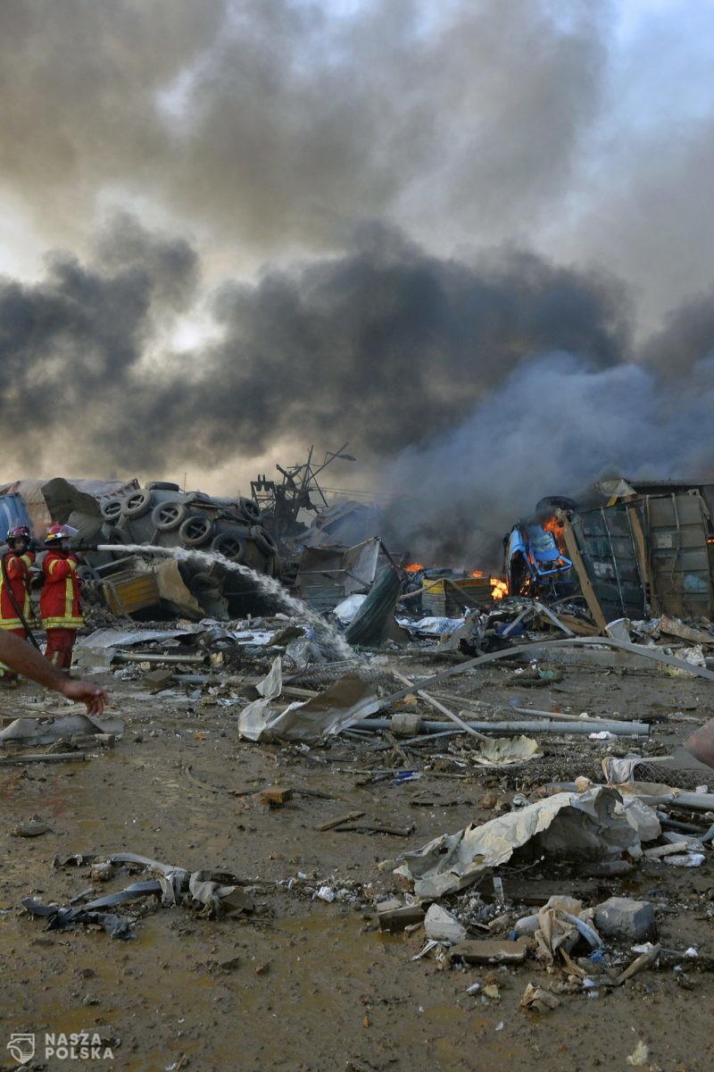 Jutro polscy strażacy wracają z Libanu