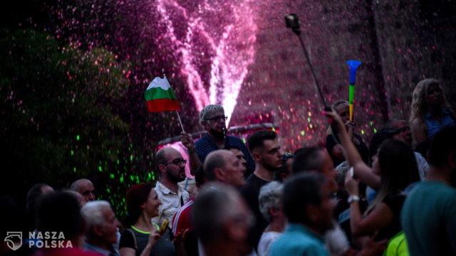 40 dzień antyrządowych manifestacji w Bułgarii