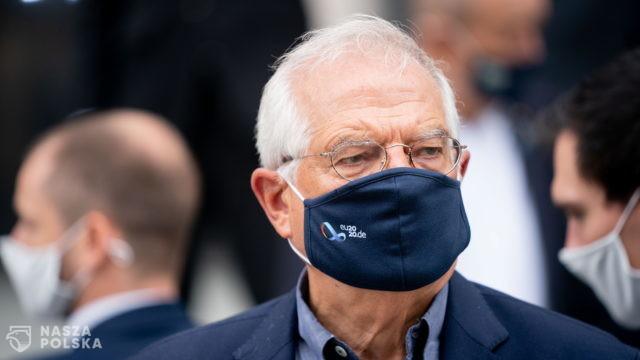 Borrell apeluje do Rosji, by nie interweniowała na Białorusi