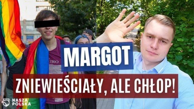 YouTube usunął z kanału KorwinTV film pt. Margot to chłop
