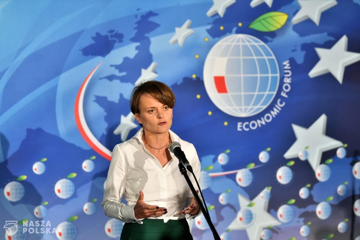 """Minister Emilewicz szuka """"mechanizmów odporności gospodarczej"""". Pomożecie?"""