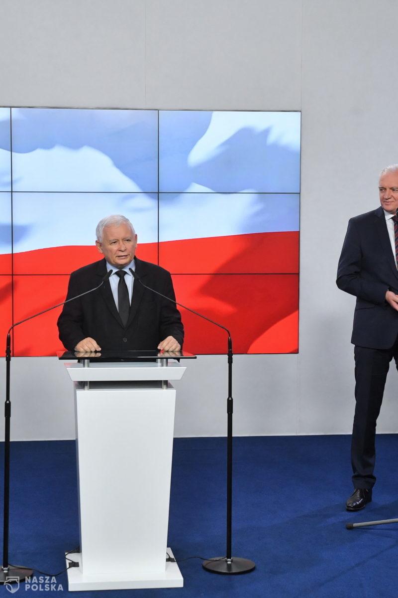 Jest porozumienie rządowej koalicji. Wypowiedzi Kaczyńskiego, Gowina, Ziobro i Morawieckiego
