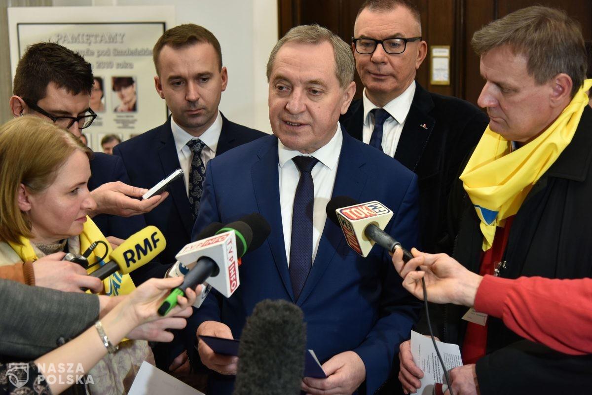 Kowalczyk o zawieszeniu w prawach członka PiS