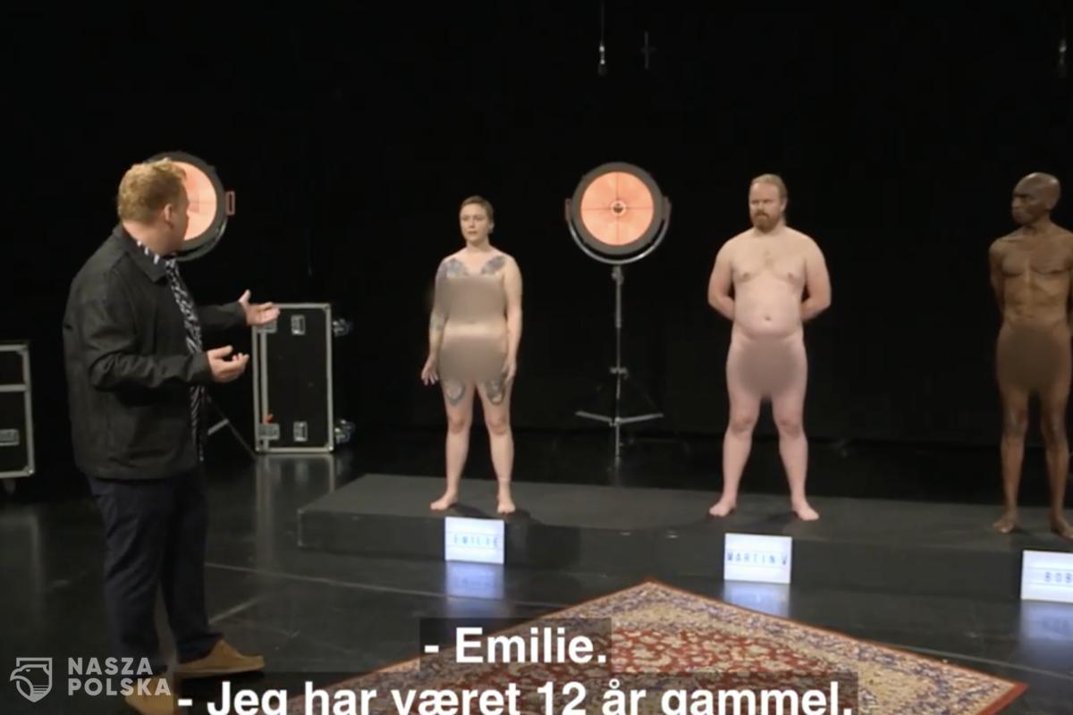 Duńska telewizja emituje program, w którym dzieci oglądają nagich dorosłych