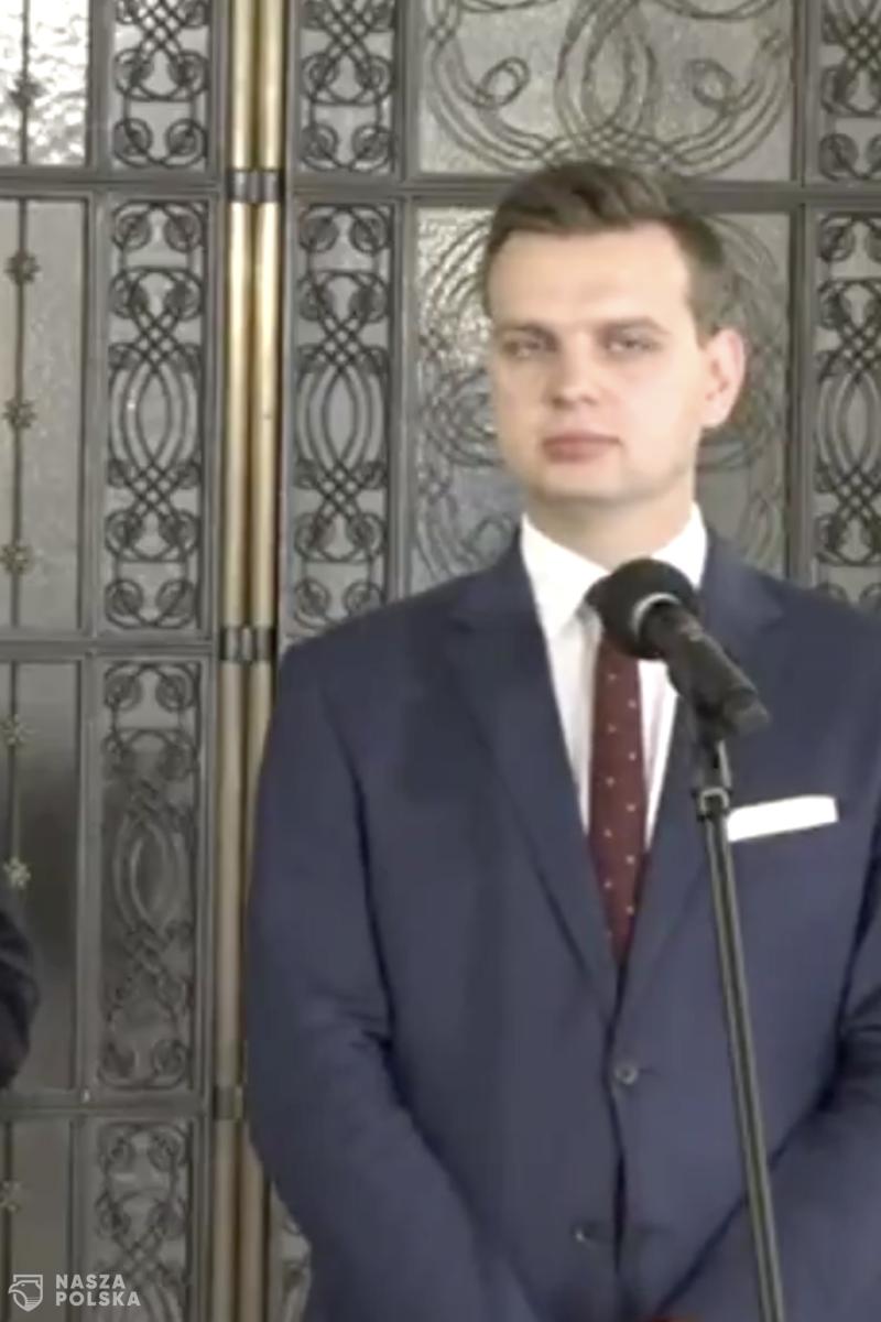"""Kulesza (Konfederacja) o Kaczyńskim: jesteśmy zdumieni utworzeniem stanowiska """"komisarza do spraw bezpieki"""""""