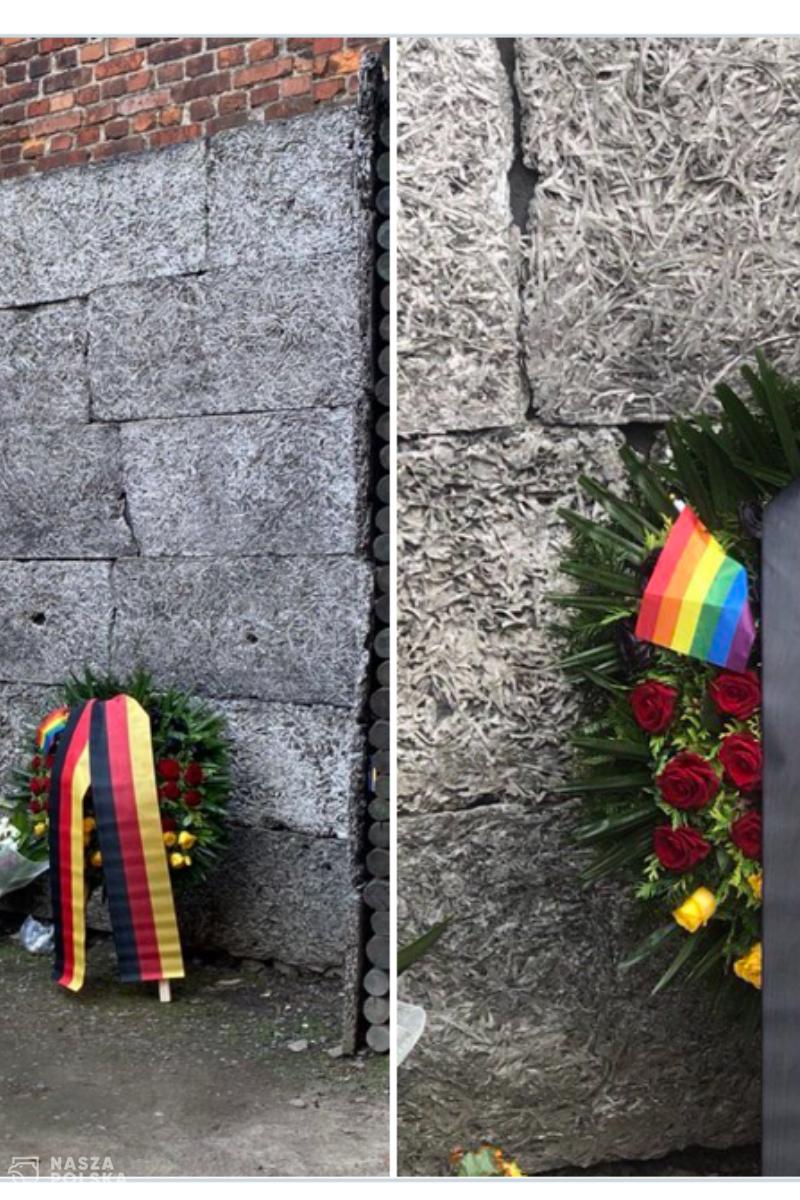 Niemiecki polityk w niemieckim obozie koncentracyjnym Auschwitz-Birkenau zapomniał o Polakach