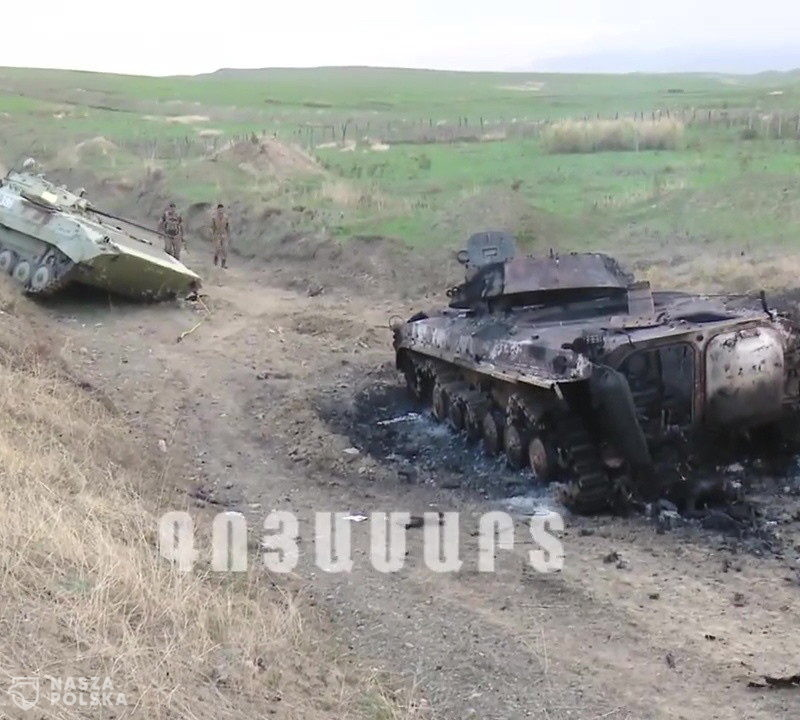 Trwają walki sił Armenii i Azerbejdżanu o Górski Karabach