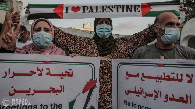 Eskalacja konfliktu w Palestynie