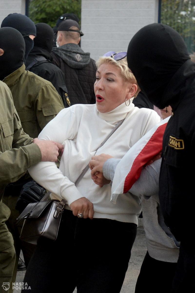 Na Białorusi wciąż trwają manifestacje. Jest wielu zatrzymanych