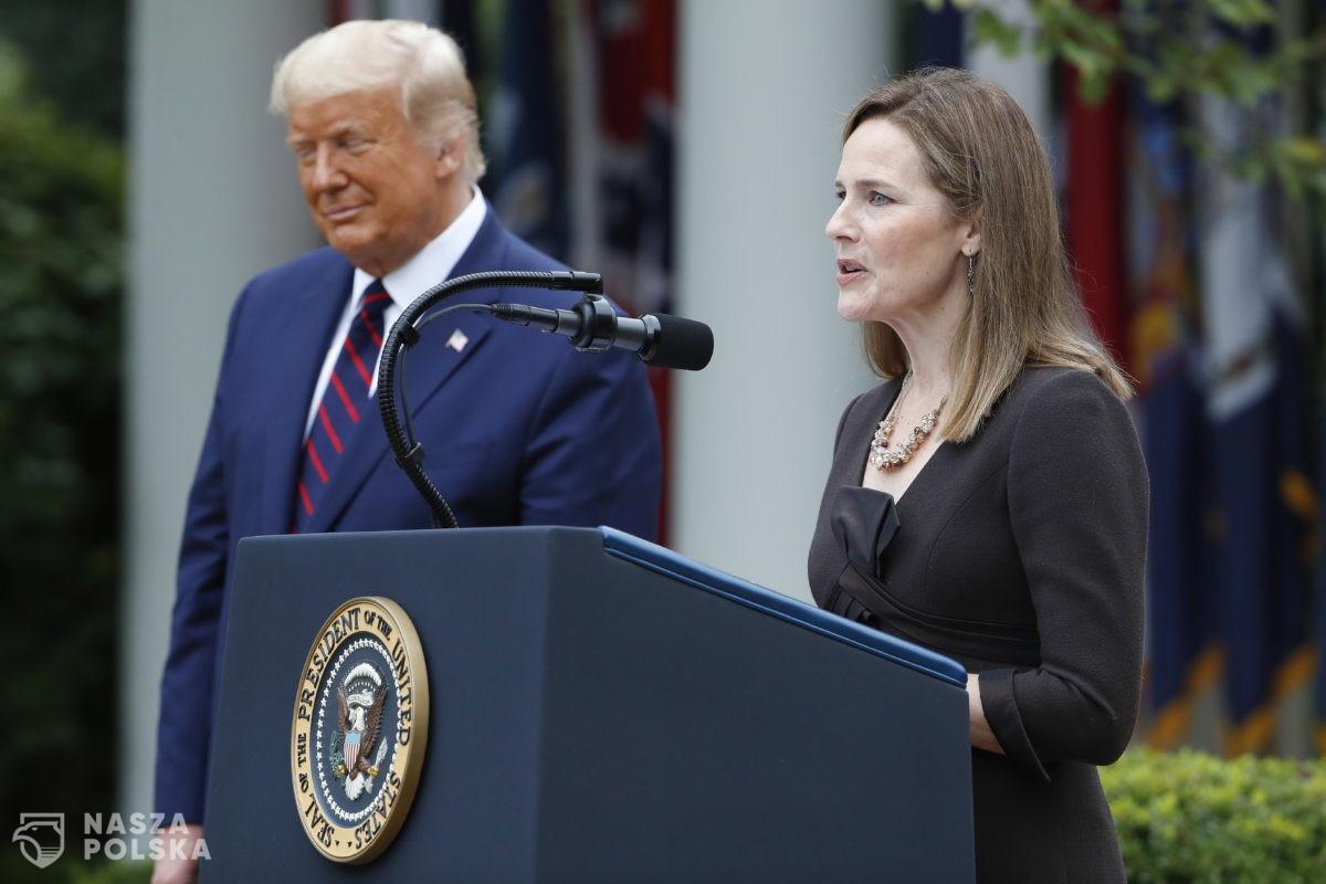 Amy Coney Barrett, katoliczka o konserwatywnych poglądach, kandydatką Trumpa do Sądu Najwyższego