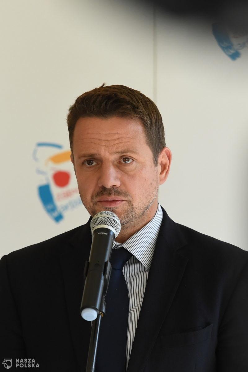 Trzaskowski: wszyscy wiemy, że próba organizacji wyborów 10 maja była całkowicie nielegalna