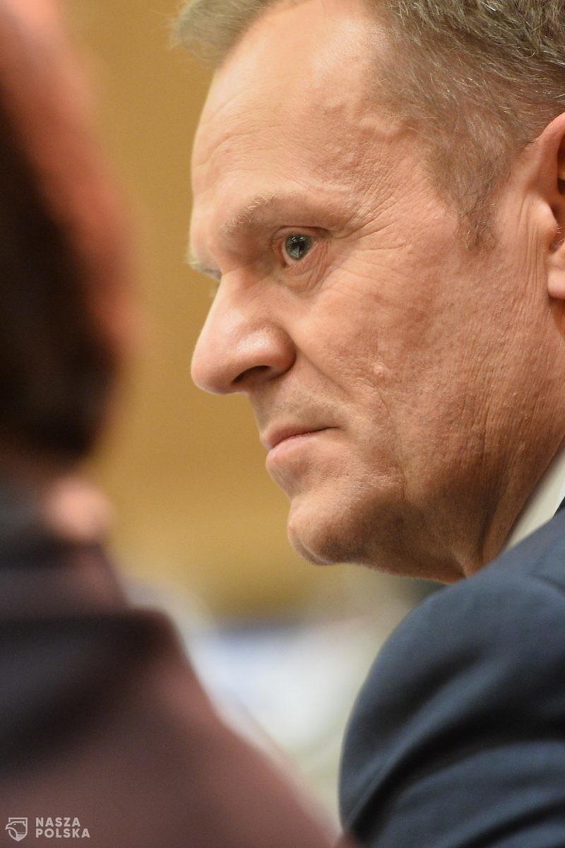 Tusk: wszystkie działania PiS wpisują się w rosyjską strategię rozbijania UE