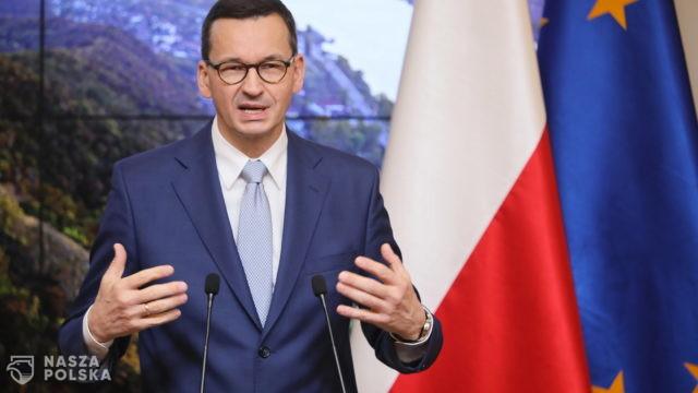 Premier: kryzys związany z pandemią potwierdził znaczenie państwa narodowego