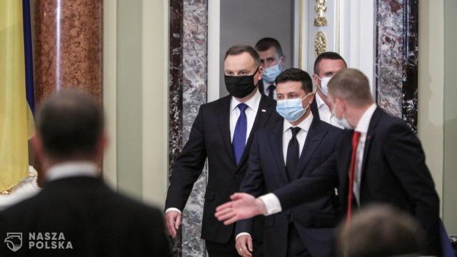 Prezydenci Polski i Ukrainy: sankcje na Rosję powinny być utrzymane