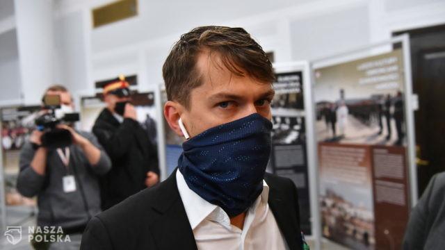 Michał Kołodziejczak z Agrounii rozmawiał z marszałkiem Senatu