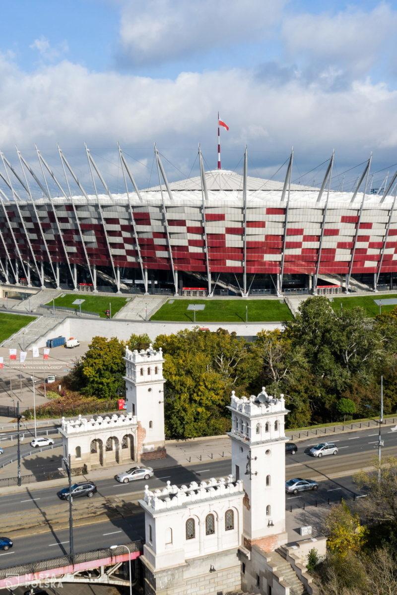 Na Stadionie Narodowym zaczął się montaż sprzętu medycznego m.in. instalacji tlenowej