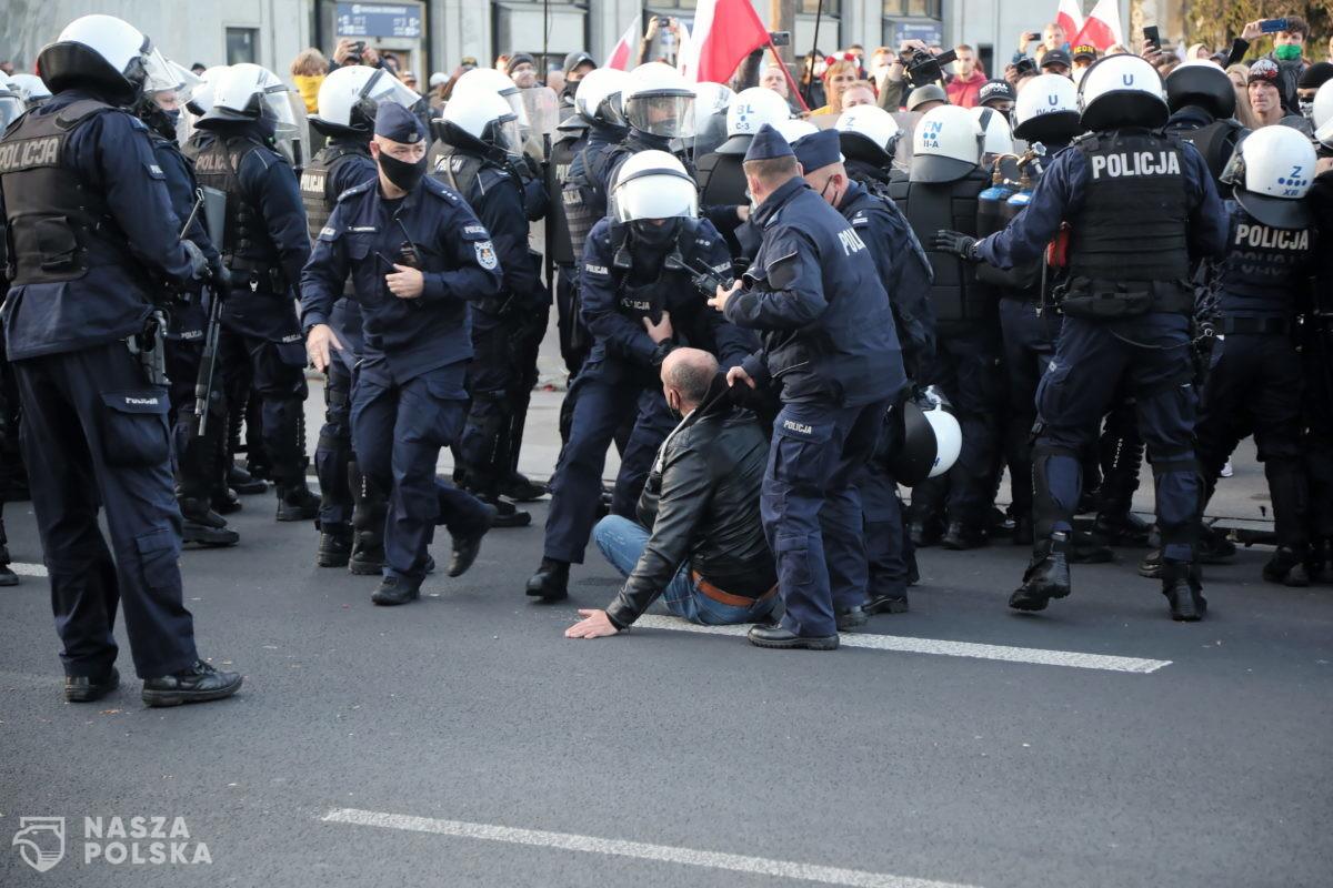 Ponad 120 zatrzymanych podczas Marszu o Wolność!