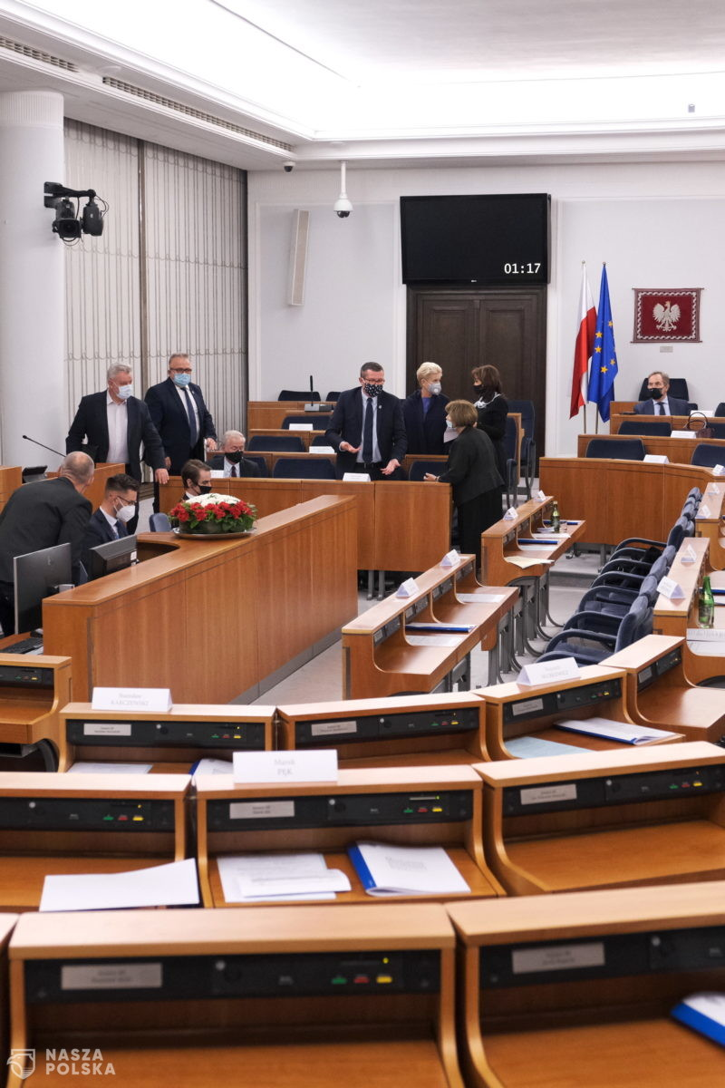 Senat za ustawą covidową