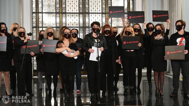 Posłanka Lewicy domaga się depenalizacji aborcji z dzieckiem na ręku
