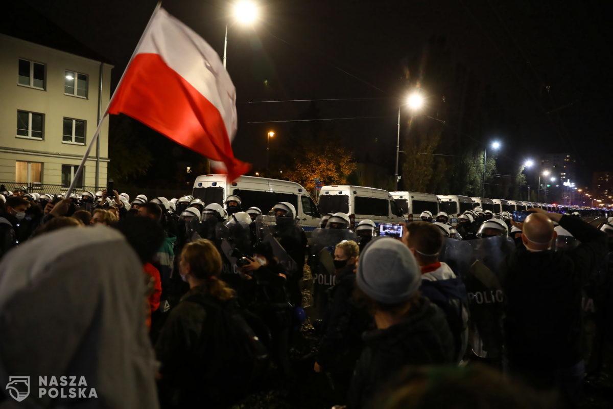 Protest dotarł pod dom prezesa PiS