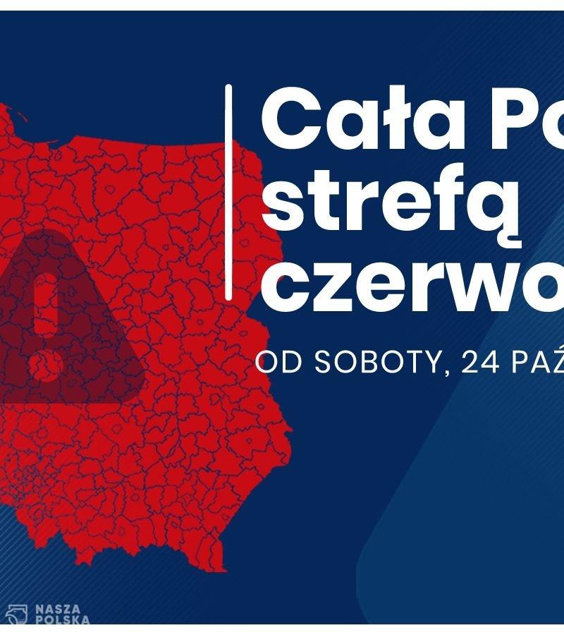 Cała Polska strefą czerwoną, nauka w szkołach podstawowych od 4 klasy zdalna
