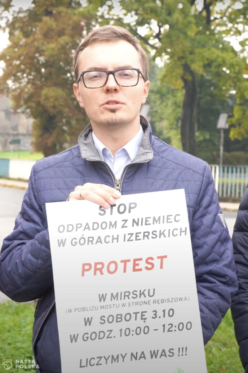 Protest przeciw wwożeniu odpadów z Niemiec do Polski. Będzie blokada drogi