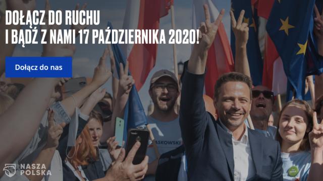 """Ruszają zapisy do """"Nowej Solidarności"""" Rafała Trzaskowskiego"""