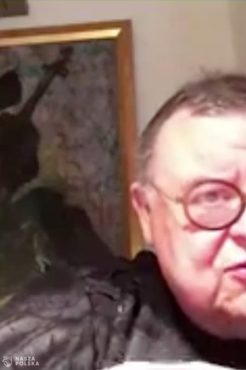 Wojciech Mann: Rozumni ludzie wstydzą się tego, że mają polskie obywatelstwo
