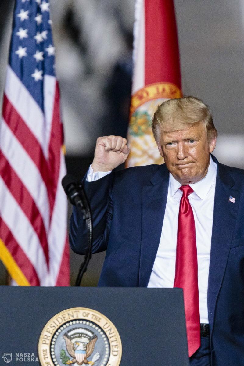 Trump na Florydzie zagłosował w wyborach prezydenckich