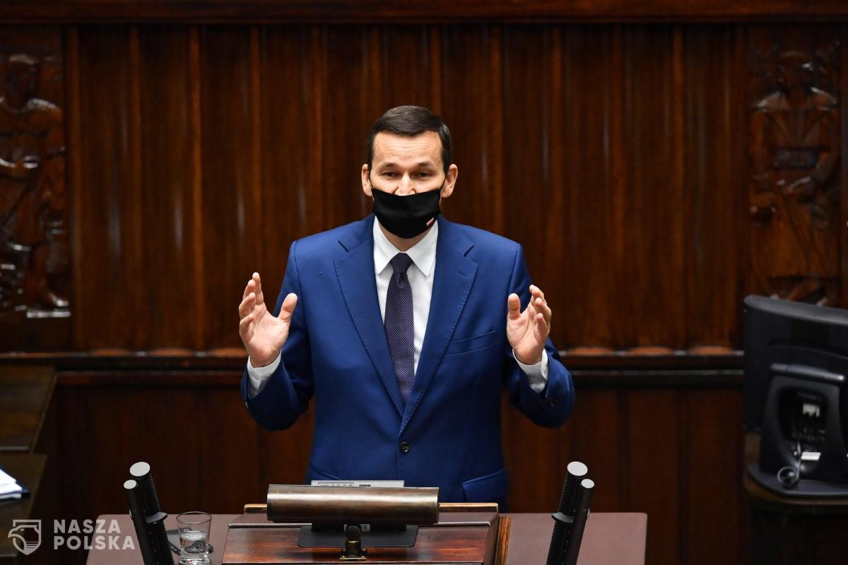 Premier do opozycji: wyciągamy rękę do zgody