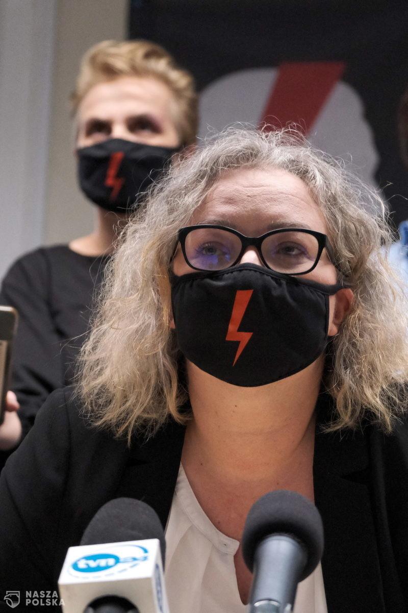 Marta Lempart z zakazem wejścia do Sejmu i Senatu