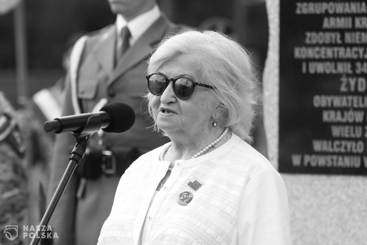 """Zmarła Lidia Markiewicz-Ziental ps. """"Lidka"""" – sanitariuszka, najmłodszy żołnierz batalionu Armii Krajowej """"Zośka"""""""