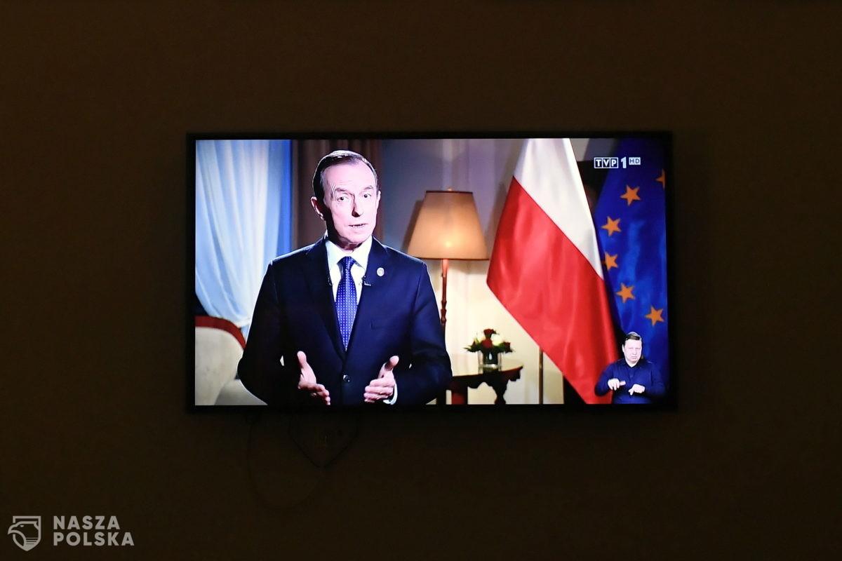 Marszałek Senatu: oczekujemy wycofania się ze sprzecznej z polską racją stanu groźby weta ws. budżetu UE