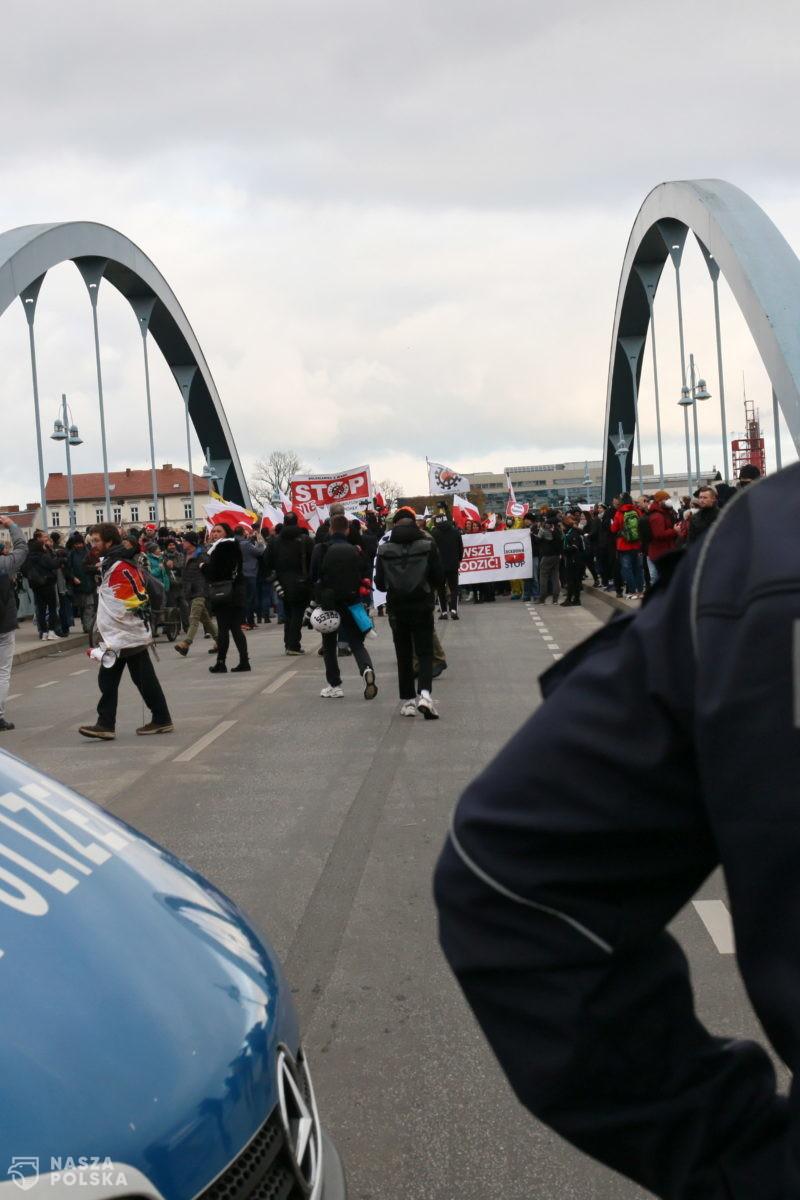 Polsko-niemiecki marsz o wolność oczami niemieckiego portalu rbb24