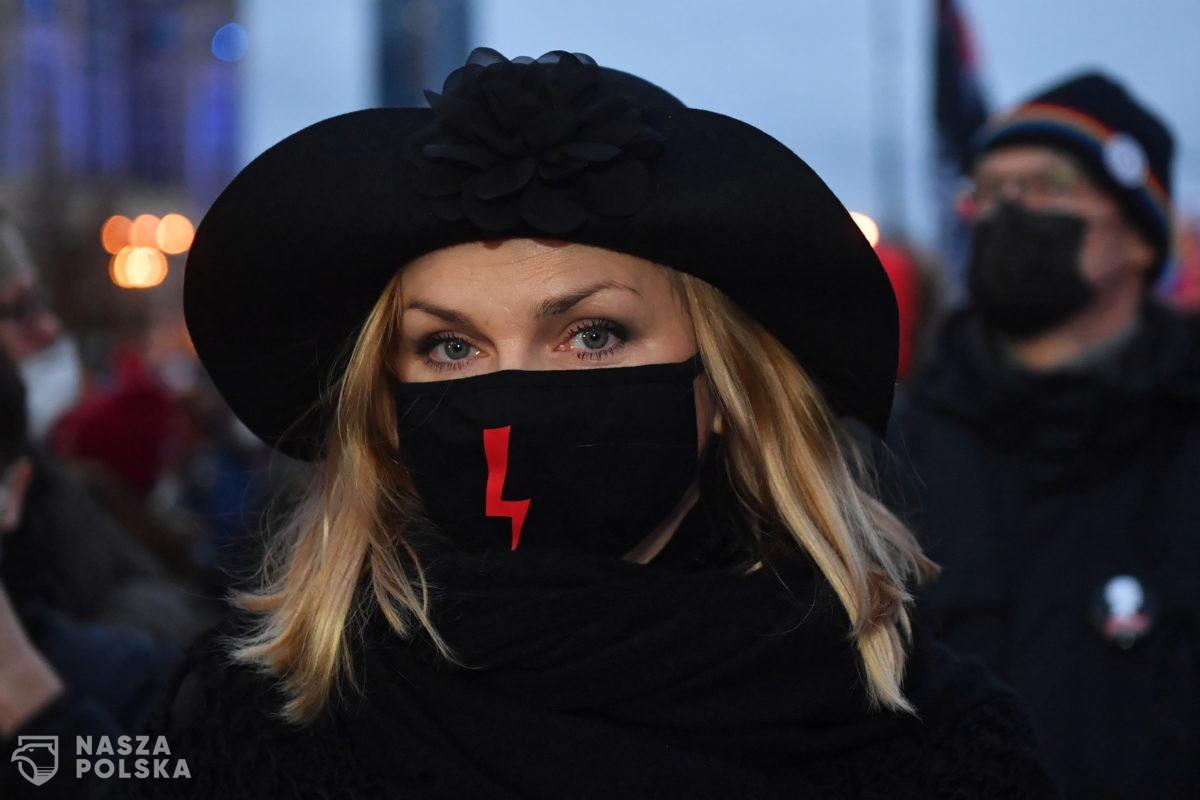 Policja zatrzymała kolejny protest Strajku Kobiet