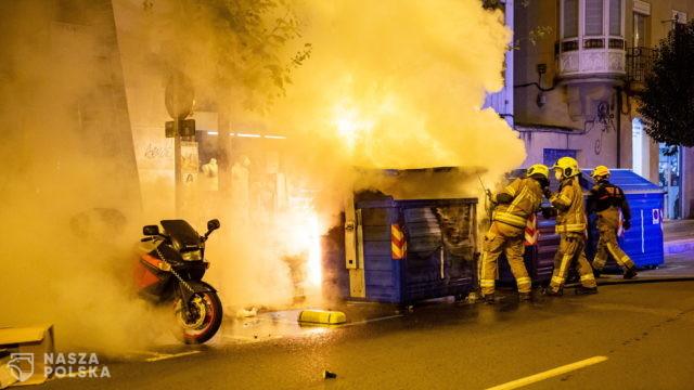 Hiszpania/ Ponad 70 zatrzymanych i 30 rannych podczas protestów epidemicznych
