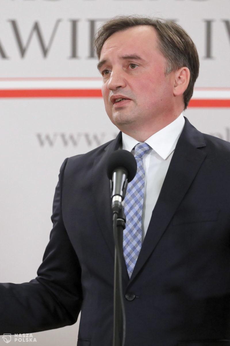 Ziobro: Prace nad ustawą chroniącą wolność w internecie nabierają tempa