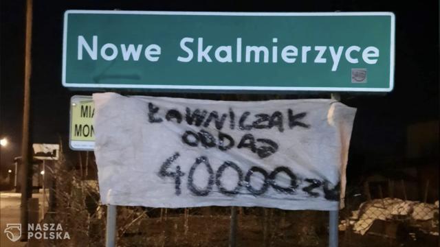Rolnikom z Agrounii grozi do roku więzienia za znieważenie posła z PiS