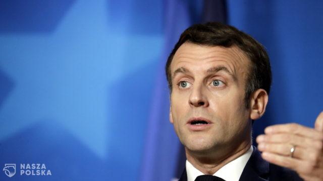 Francja/ Prezydent Macron zapowiedział kontrolę parlamentarną nad policją