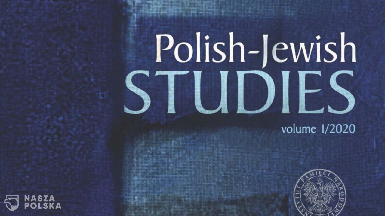 """Polish-Jewish Studies"" – IPN zaprezentował nowe czasopismo naukowe"