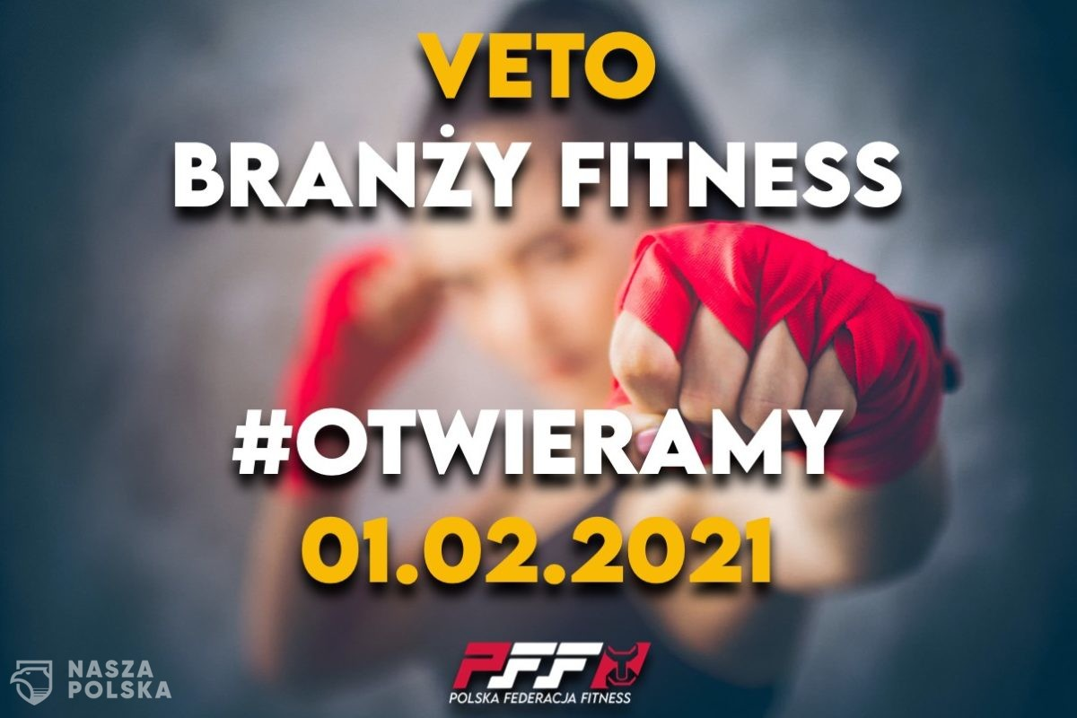 Do akcji #otwieraMY przyłącza się branża fitness
