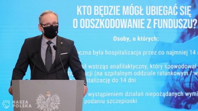Fundusz kompensacyjny. Minister zdrowia przedstawił założenia funduszu odszkodowawczego NOP